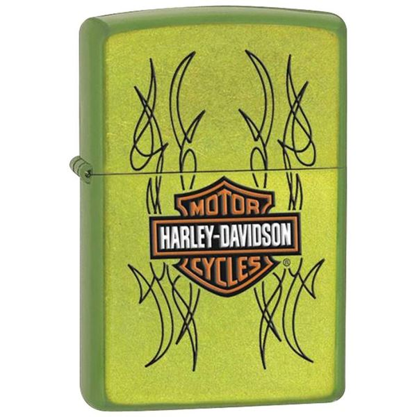 Harley-Davidson Bar Shield Lurid Lighter