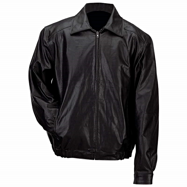 Bomber Style Genuine Leather Jacket
