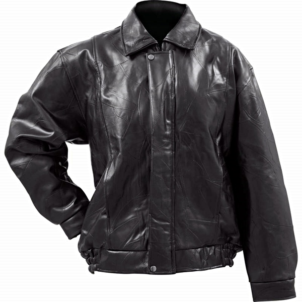 Buffalo Leather Bomber Jacket