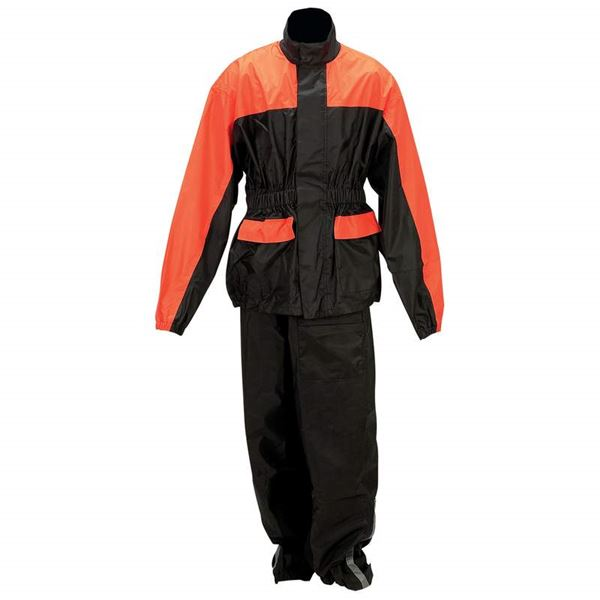 Diamond Plate Motorcycle Rain Suit