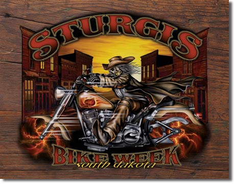 Sturgis Bike Week - Wild Bill 05 Tin Sign