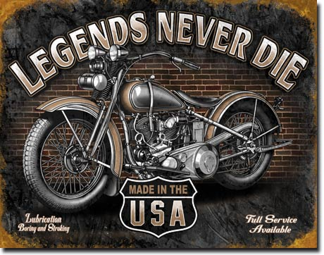 Legends Never Die - Made In The USA