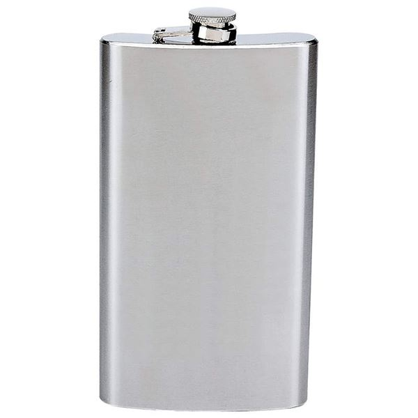 12oz Stainless Steel Hip Flask
