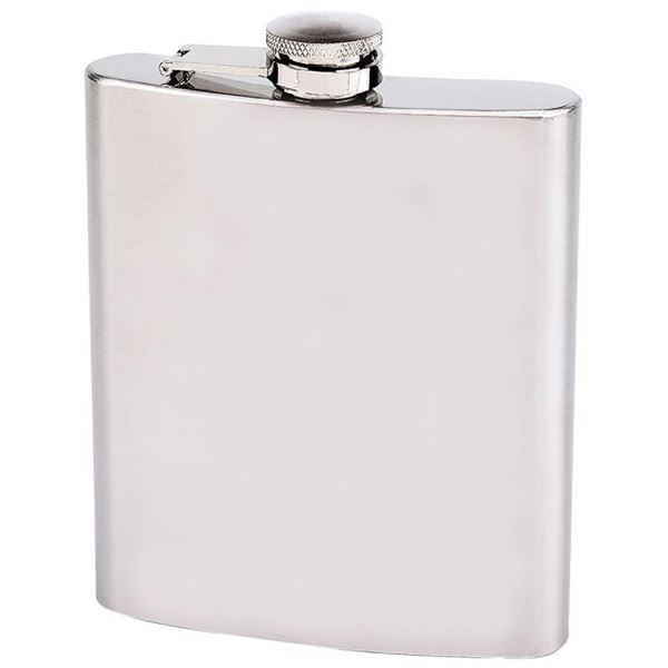 18oz Stainless Steel Flask Brushed Finish