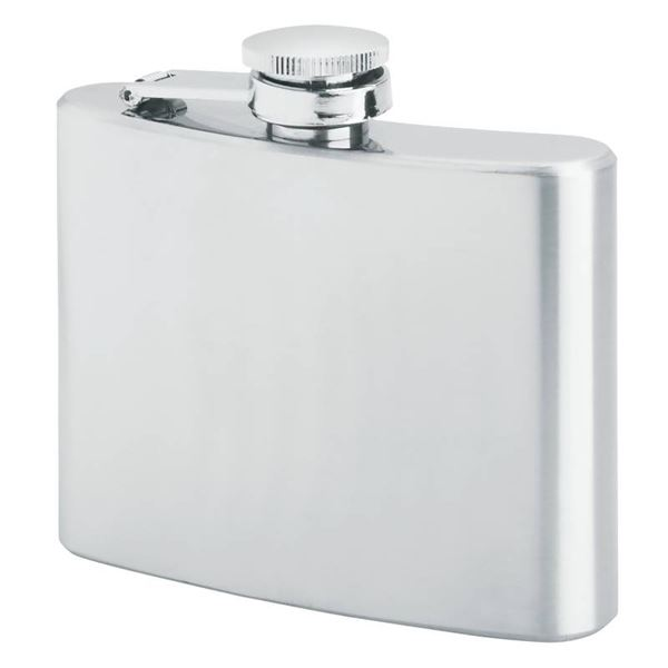 4oz Hip Flask with Screw Down Cap