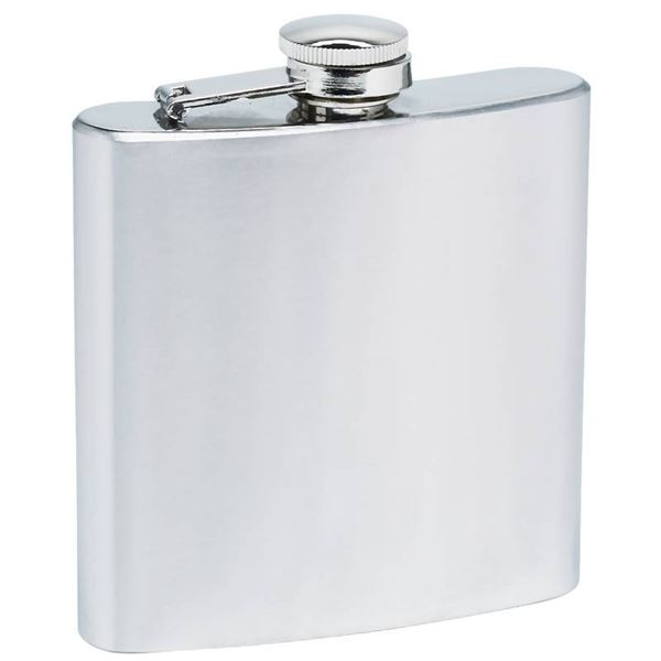 6oz Flask with Screw Down Cap
