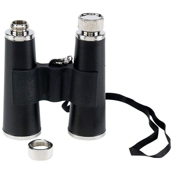 The Binocular Secret Hidden Flask