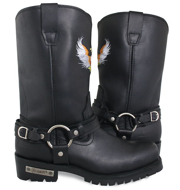 Bald Eagle Harness Boots