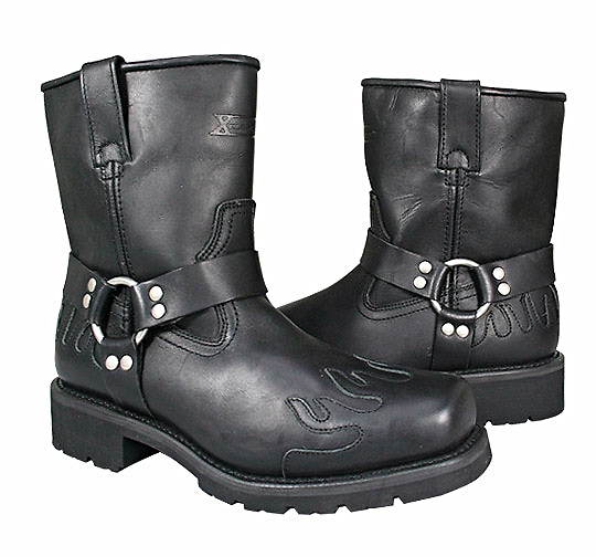 Black Flame boots
