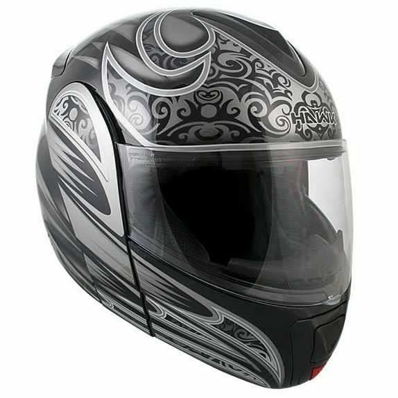 Hawk Motorcycle Helmet