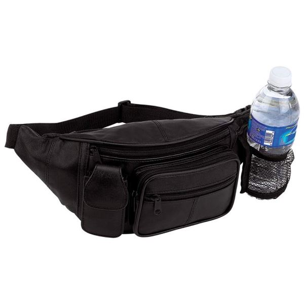 Genuine Leather Waist Bag Fanny Pack