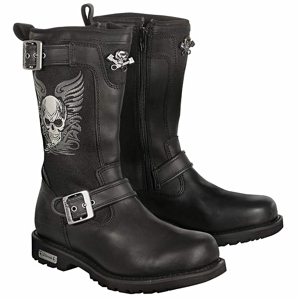 Lady motorcycle boots