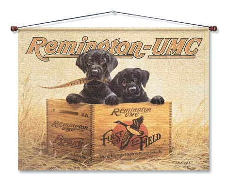 REMINGTON Finders Keepers Canvas Wall Hanging