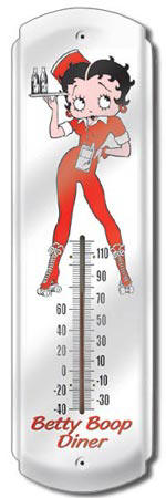 Home Accents Thermometers Betty Boop Better Boop Diner